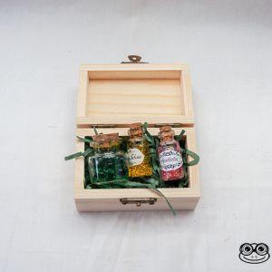 Kit pociones. Caja abierta