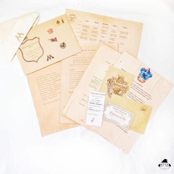 Pack Carta Escuela. Desglose de producto