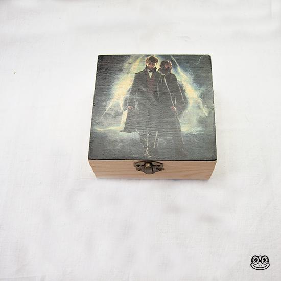 Caja Newt y Dumbledore