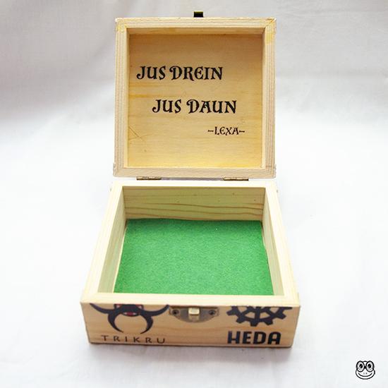 Caja Heda Lexa interior inspirada en la serie The 100