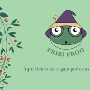Tarjeta Regalo creaciones Friki Frog