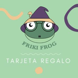 Tarjeta Regalo creaciones Friki Frog para apuros